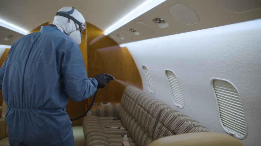 Duncan Aviation's Aircraft Disinfection Service Available Now at Several Satellite Shops | Duncan Aviation