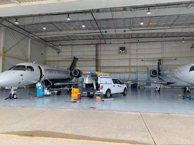 Duncan Aviation's Rapid Response Team Gets  Embraer Legacy 500 Back In The Air | Duncan Aviation